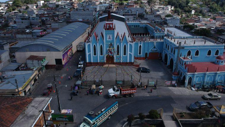 San Pedro Sacatepéquez es  uno de los municipios más seguros, según la PNC y vecinos de esa localidad.(Prensa Libre: Carlos Hernández)