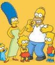 """La serie animada """"Los Simpsons"""" llega a su fin. (Foto Prensa Libre: Hemeroteca PL)"""