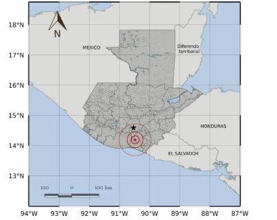 El epicentro del temblor se ubicó en Santa Rosa. (Foto: Insivumeh)
