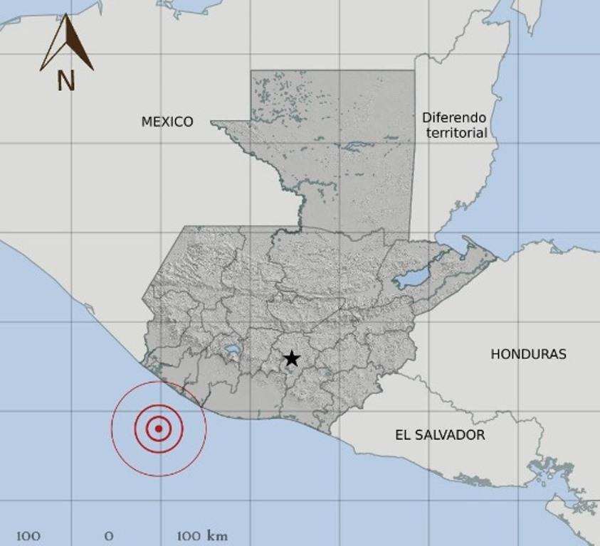 Temblor 5.1 grados es sensible en suroccidente y centro de Guatemala