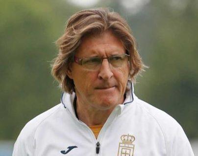 Sergio Egea Rueda dirigió al Real Oviedo, de España, hasta septiembre de 2019. (Foto Prensa Libre: Cortesía)