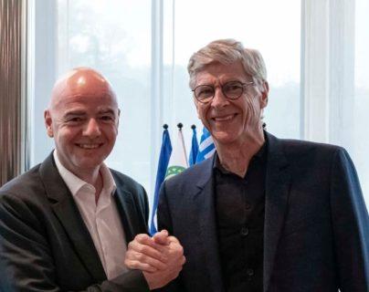 Infantino y Wenger trabajarán juntos en la FIFA. (Foto Prensa Libre: fifa.com)