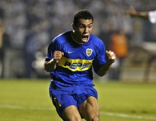 Carlos Tevez espera retirarse en Boca Juniors. (Foto Prensa Libre: Hemeroteca PL)