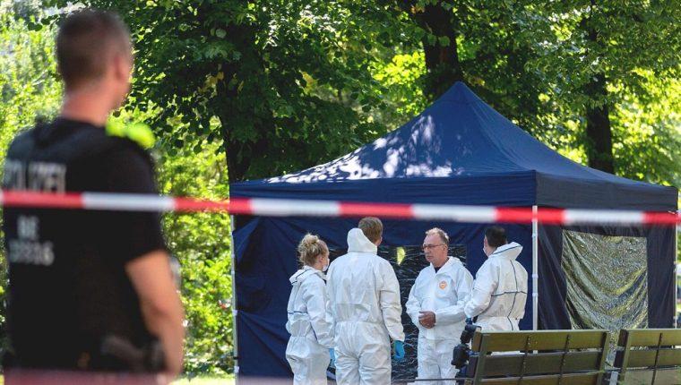 El excombatiente fue asesinado en un parque. AFP