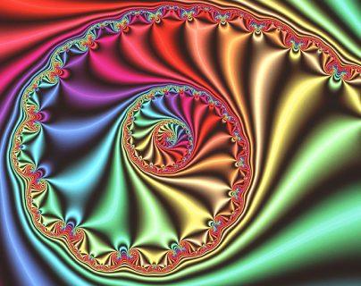 Gráfico de computadora que muestra una imagen fractal tridimensional derivada del conjunto Julia, inventado y estudiado durante la Primera Guerra Mundial por los matemáticos franceses Gaston Julia y Pierre Fatou.