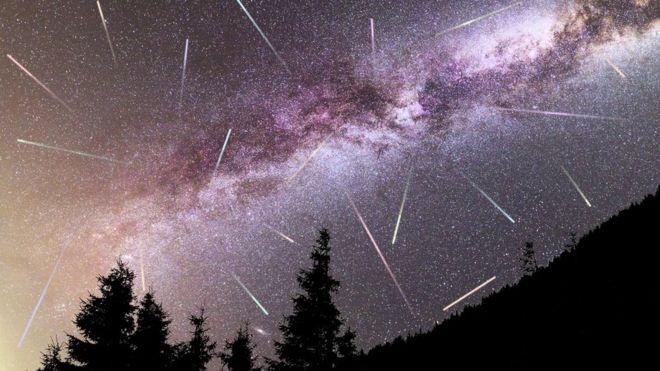 Las estrellas y los meteoritos son eventos que han fascinado a los humanos durante milenios. GETTY IMAGES