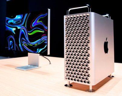 El paquete básico de la Mac Pro no incluye la pantalla Pro Display XDR, la cual cuesta lo mismo que el ordenador. GETTY IMAGES