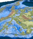 El nuevo mapa es la ilustración más detallada hasta ahora de la Antártica. BEDMACHINE/UCI/BAS