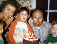 La familia Mason durante el cumpleaños de su hijo Micah.
