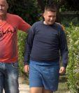 Héctor Fernández y su hijo Christian, quien padece de síndrome de Prader-Willi, una condición genética incurable.
