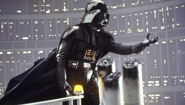 """Darth Vader, el símbolo de """"La guerra de las galaxias""""."""