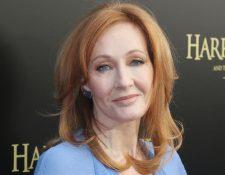 """J.K. Rowling es conocida mundialmente por ser la autora de la saga """"Harry Potter""""."""