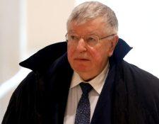 Didier Lombard negó que sus reformas llevaran al personal de France Telecom a suicidarse. REUTERS