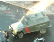 El video del atropello se hizo viral.