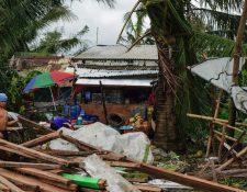 Miles de residentes se quedaron sin hogar tras el paso de la tormenta. GETTY IMAGES