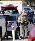 Un tiroteo se produjo este 29 de diciembre dentro de una iglesia de Texas. (Foto Prensa Libre: AFP)