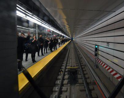 Tres incidentes se han reportado en la última semana dentro de las estaciones del subterráneo de Nuevo York. (Foto Prensa Libre: MTA NYC Transit)