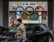 Los atletas rusos podrían ser expulsados de los Juegos Olímpicos en Tokio y Beijing. (Foto Prensa Libre: EFE)