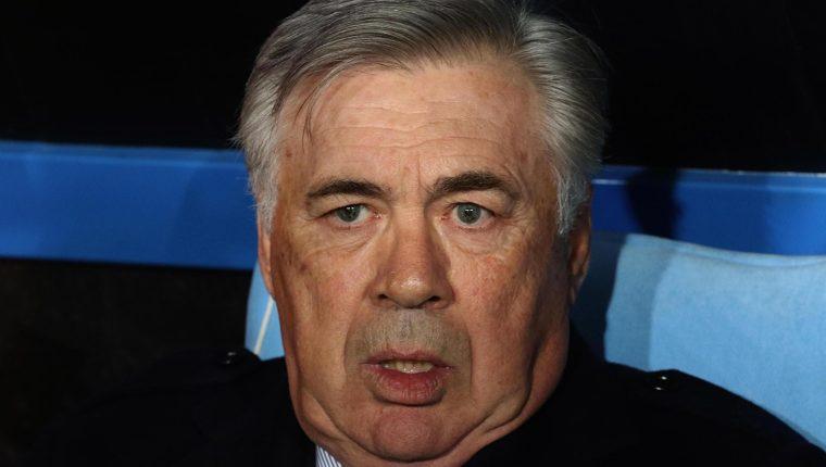 Carlo Ancelotti terminó su relación con el Nápoli. (Foto Prensa Libre: EFE)