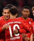 Philippe Coutinho fue el arma letal del Bayern. (Foto Prensa Libre: )