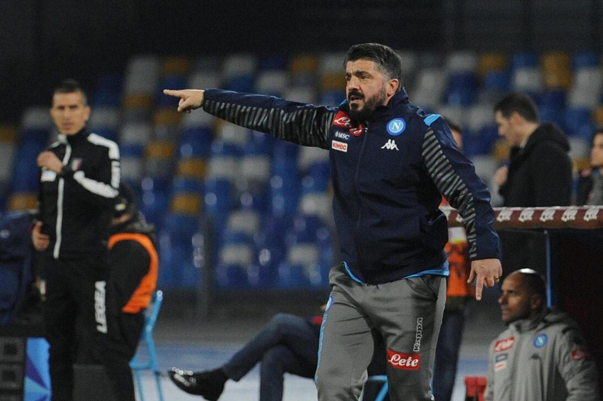 El Nápoli agrava su crisis con derrota en el estreno de Gattuso