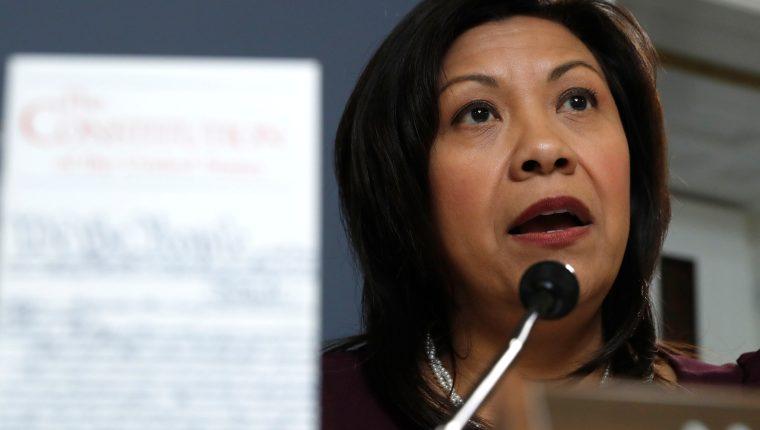 La congresista Norma Torres sería reelecta por tercera vez con lo cual en 2020 comenzaría su cuarto periodo en la Cámara de Representantes. (Foto: Prensa Libre. EFE)