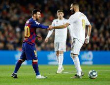 El delantero argentino Lionel Messi lidera la lista de goleadores por arriba de Benze.a (Foto Prensa Libre: EFE).