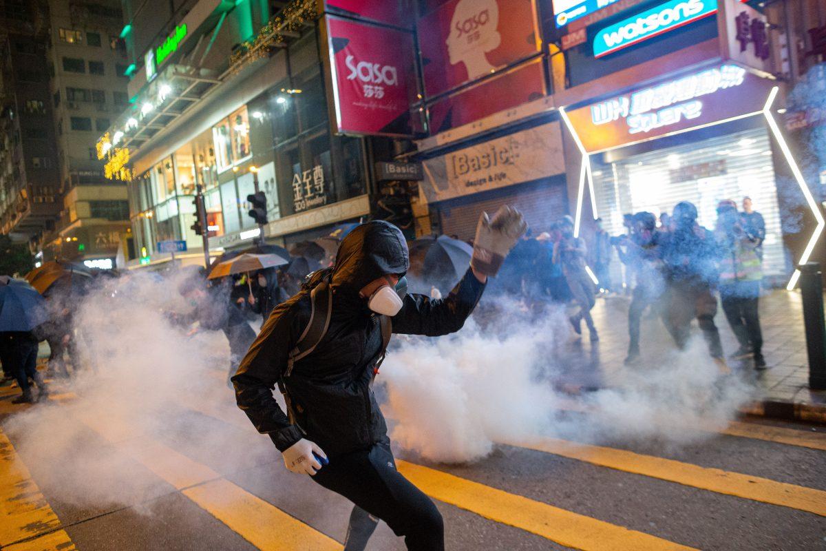 El país que recibió la Navidad con protestas, enfrentamientos y decenas de capturados