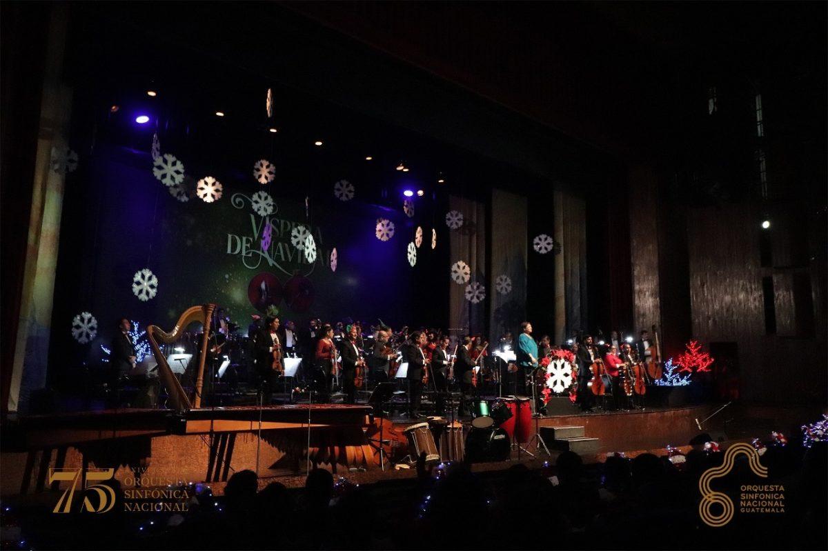 Útiles por música: Orquesta Sinfónica dedicará el último concierto navideño a los niños de Purulhá