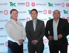 Representantes del TEC y Huawei desarrollaron la primera edición del Huawei Developer Day. Foto Prensa Libre: Norvin Mendoza