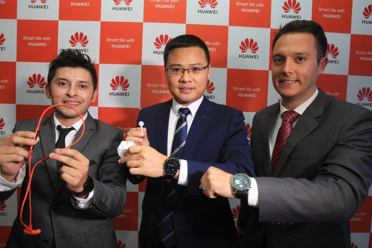 Huawei presenta su nueva línea de accesorios, en los que destacan los nuevos Huawei Watch GT2