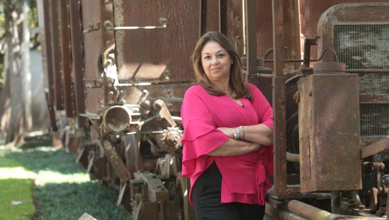 Margareth Flores directora ejecutiva de RedEAmerica estuvo en Guatemala exponiendo las ventajas de pertenecer a esta red. Foto Prensa Libre: Norvin Mendoza