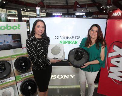 Los nuevos robots barredores y trapeadores de iRobot ya están disponibles en Tiendas Max. Foto Prensa Libre: Norvin Mendoza
