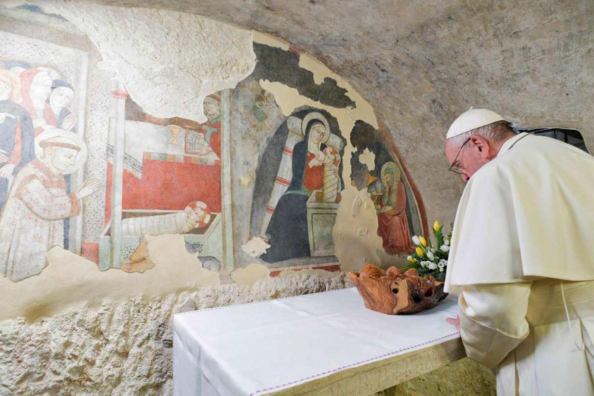 El papa Francisco anima a continuar la tradición de los nacimientos