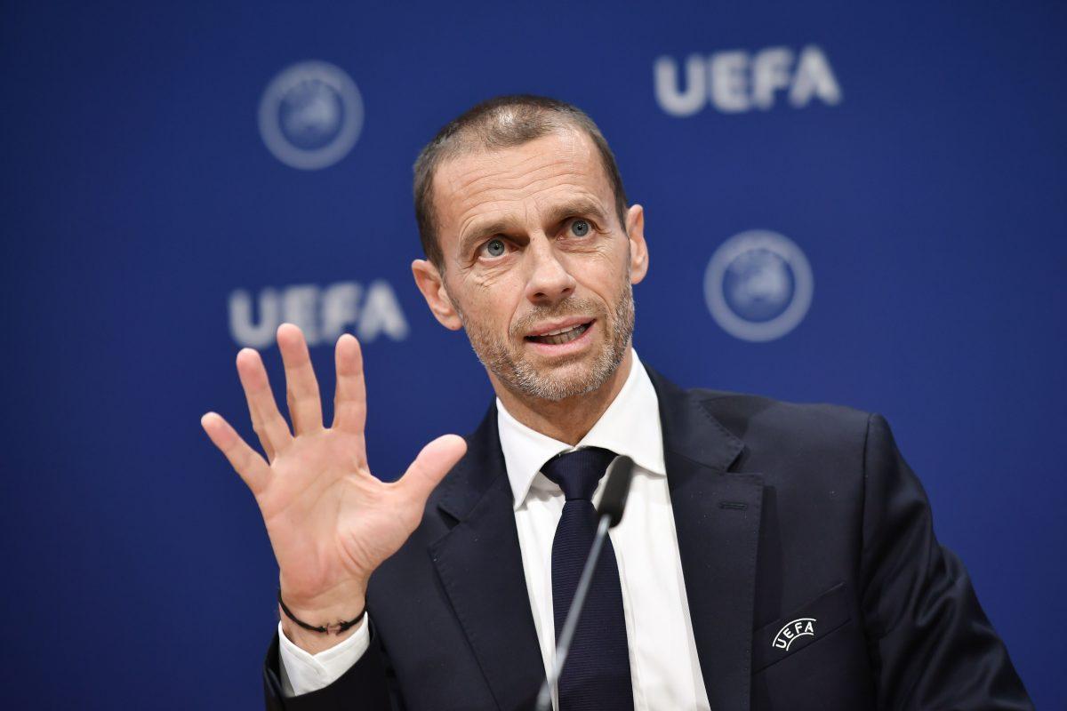 """Presidente de la UEFA: """"los jugadores que disputen la Superliga se verán privados del Mundial y de la Eurocopa"""""""