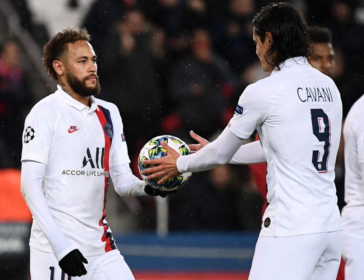 """Neymar: """"Cavani marcó y todo el mundo está feliz"""""""