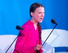 Greta Thunberg ha generado controversia durante diferentes actividades. (Foto Prensa Libre: AFP)