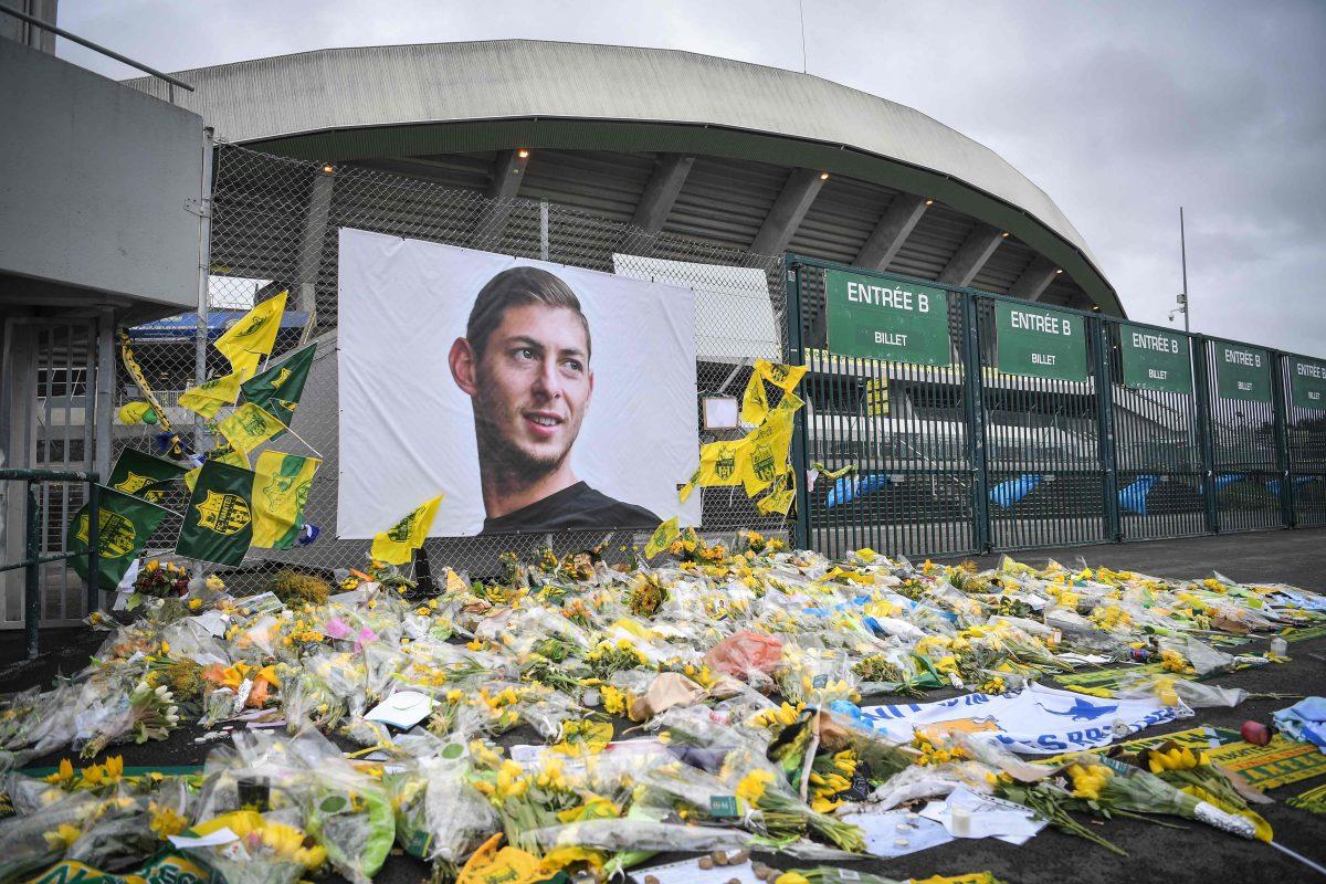 Un estadio, un mural y el recuerdo permanente de Emiliano Sala en Argentina