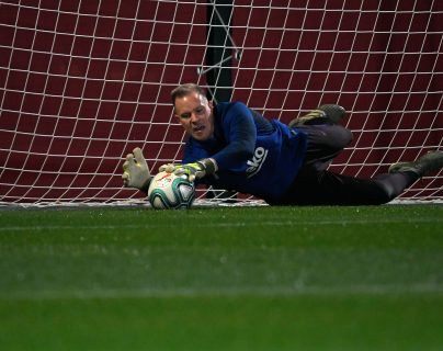 El alemán Marc-Andre Ter Stegen es una baja sensible para el Barcelona. Foto Prensa Libre: AFP)