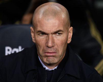 Zinedine Zidane, actual entrenador del Real Madrid. (Foto Prensa Libre: AFP)