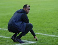 Paul Pogba, del Manchester United, será baja por lesión. (Foto Prensa Libre: AFP)