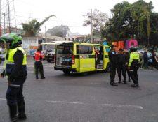 Ingreso a la colonia Primero de Julio, Mixco, donde se registró el ataque. (Foto Prensa Libre: Comuna de Mixco).