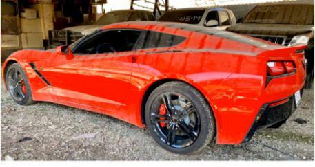 Estos son los vehículos lujosos del narco que pasaron a poder del Estado