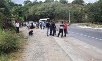 El presidente de La Asociación Guatemalteca de Instituciones de Seguros informó que ambos transportes poseen póliza de seguro. (Foto Prensa Libre: Dony Stewart)