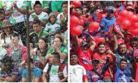 antigüeños y rojos vivirán una Navidad diferente en el cierre del Apertura 2019. (Foto Prensa Libre: Norvin Mendoza y Óscar Rivas)