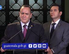La transición de Gobierno entre el presidente Jimmy Morales y el presidente electo Alejandro Giammattei ha llevado varios meses. (Foto, Prensa Libre: Hemeroteca PL).