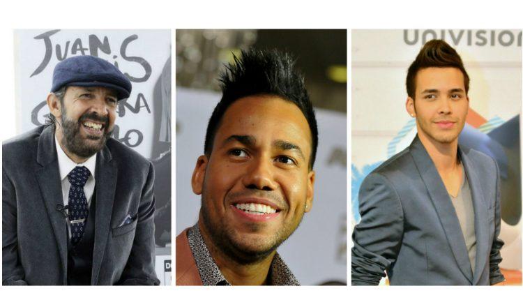 Juan Luis Guerra, Romeo Santos y Prince Royce le han dado popularidad a la bachata. (Foto Prensa Libre: Hemeroteca PL)