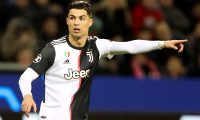 Leverkusen (Germany), 11/12/2019.- Cristiano Ronaldo of Juventus during the UEFA Champions League group D soccer match between Bayer 04 Leverkusen and Juventus FC in Leverkusen, Germany, 11 December 2019. (Liga de Campeones, Alemania) EFE/EPA/FRIEDEMANN VOGEL