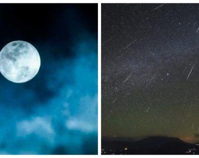 La Luna Fría vendrá acompañada de las Gemínidas. (Fotos: Nasa/NatGeo)