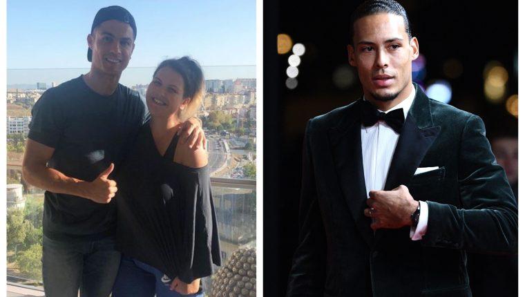 Katia defendió a su hermano Cristiano Ronaldo. (Foto Prensa Libre: Instagram y AFP)